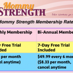 Join Mommy Strength NOW!